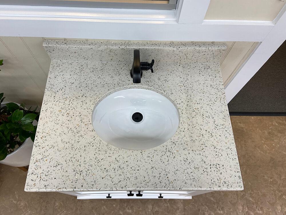 Custom Vanity Bathroom WOW factor
