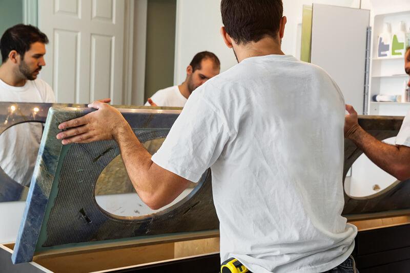 Custom Vanity Lean into the DIY Season